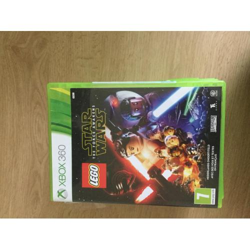 X box 360 console met games