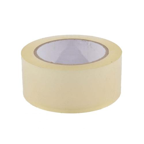 PVC-tape 48mm x 66mtr. Transparant en tape dispenser